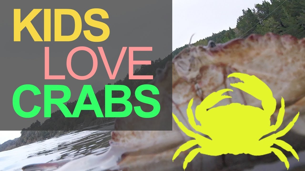 Kids Love Crabs! Dungeness Crab Fishing in Northern California Catch and Cook