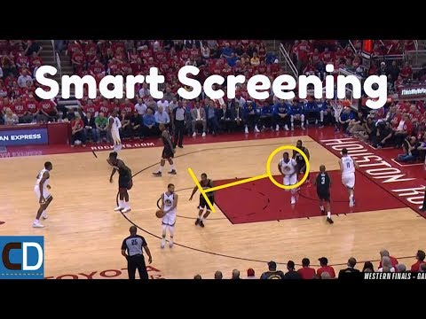 The Warriors Gorgeous Movement On Offense In Game 1
