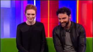 Poldark 2015  New Series Interview