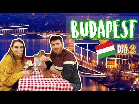 Comiendo comida HÚNGARA + Viaje a BUDAPEST, HUNGARY (SEGUNDO DÍA)