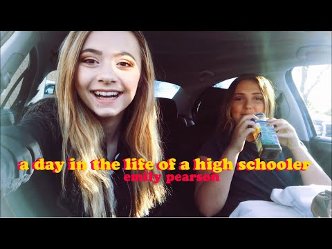 a day in my life at high school | emily pearson