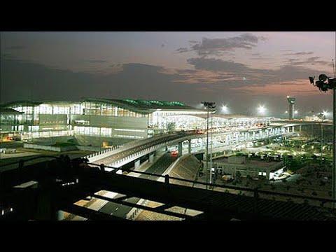 Night at Rajiv Gandhi International Airport | Hyderabad