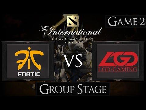 Dota 2 The International 2015 Fnatic vs LGD
