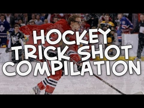 Hockey Trick Shot Compilation