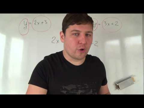 Как составить аналитическую модель прямой параллельной оси y