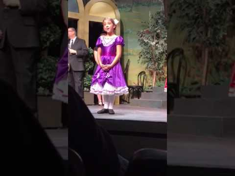 Reina Özbay as Gretl in The Sound of Music - March 2017