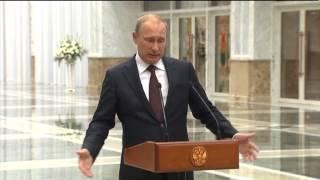 Путин: прекращение огня - это не наше дело(, 2014-08-27T01:01:36.000Z)