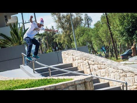 Haslam & Crew Crushing Skate Spots in Crete