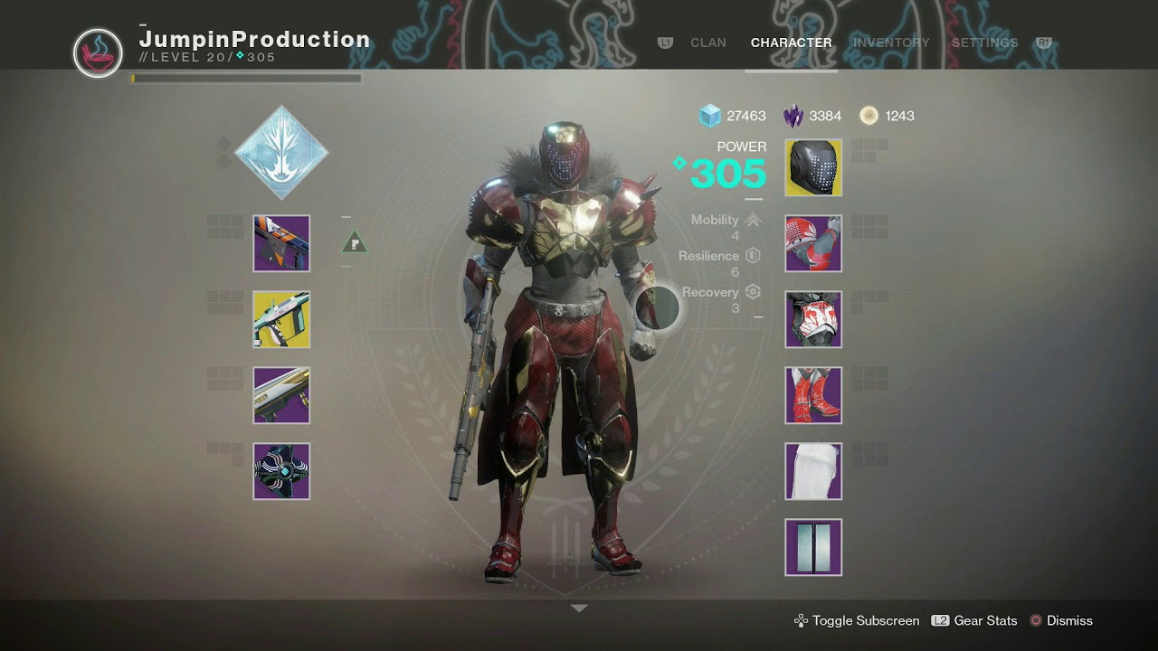Destiny  Best Titan Pvp Build