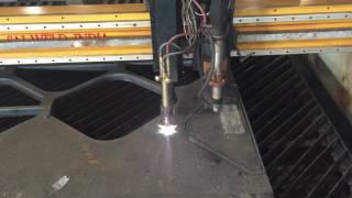 oxy fuel cutting 80 mm piercing cutting
