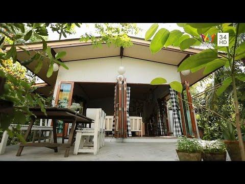 my home ตอน บ้านไม้กลางสวน วันที่ 24 มกราคม 2558 AMARIN TV HD ช่อง 34