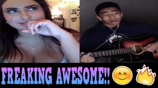 Singing To Girls On Younow [Best Reactions] [2017]