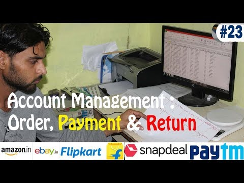 Account Management in eCommerce - Sales, Payment & Return - Ecom Seller Tips - EST