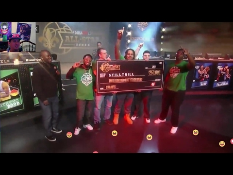 NBA 2K17 ALL STAR FINAL GAME LIVE STREAM $250,000 ON THE LINE !!!!!!!!!