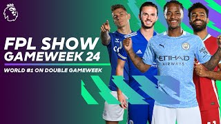 FPL WORLD #1 shares his SECRETS & backs Manchester City triple-up | FPL Show Gameweek 24