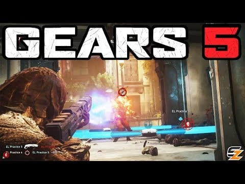 GEARS 5 Multiplayer Gameplay - 10 Minutes Of Gears 5 Sniper Rifle Gameplay!