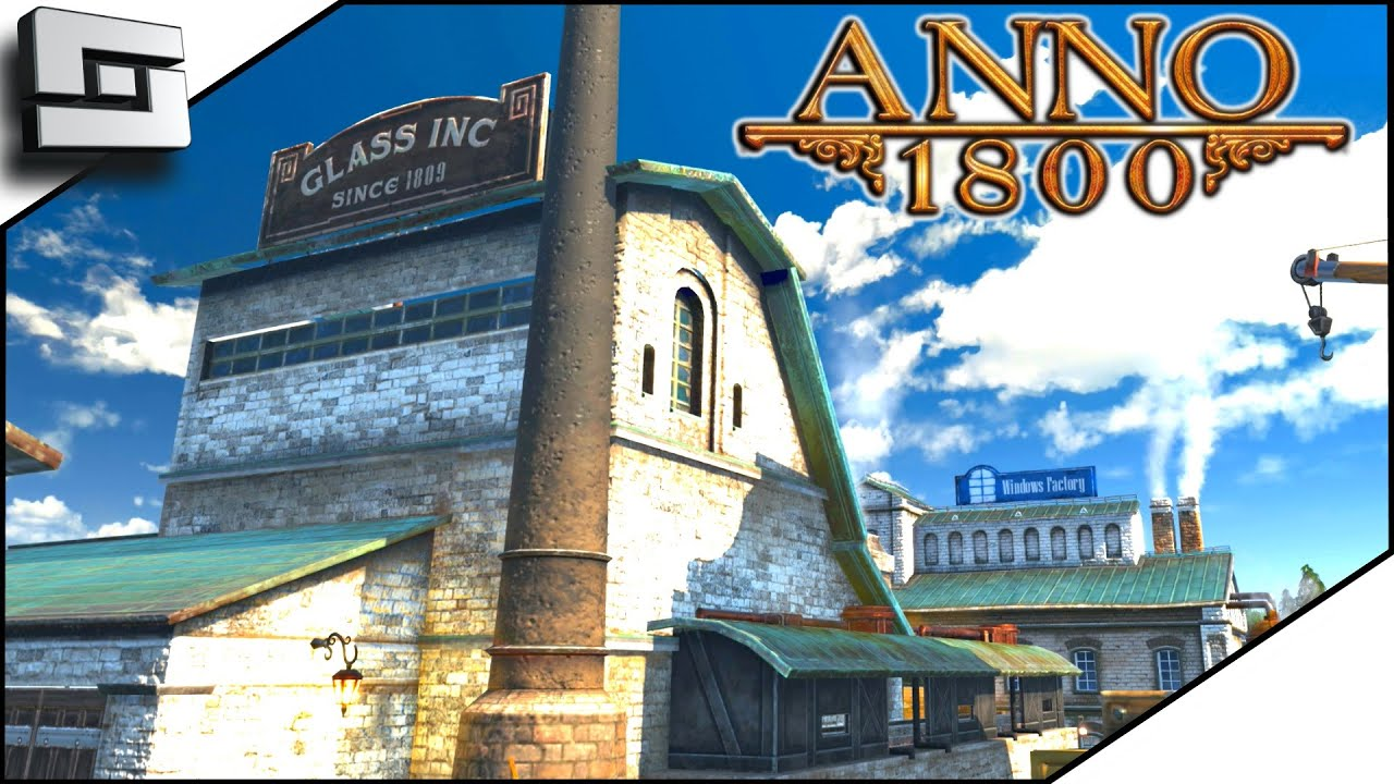 Anno 1800 – PARADE AND WINDOW FACTORY – (Anno 1800 Full Game)