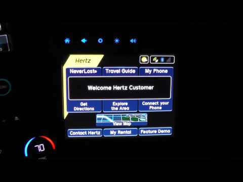 Thumbnail: Hertz NeverLost Concierge GPS System Power Up & Shut Down