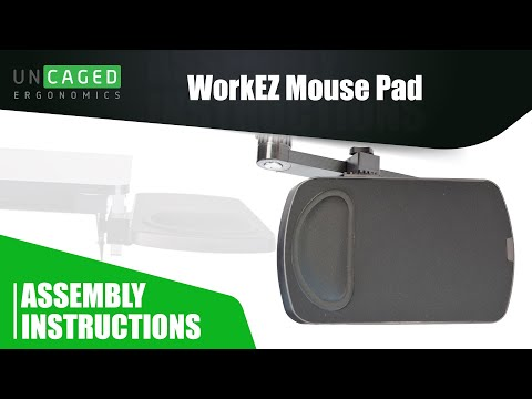 WorkEZ Mouse Pad vs WorkEZ Keyboard Tray Mouse Pad