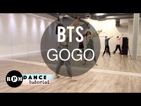 "BTS ""고민보다 GO (GOGO)"" Dance Tutorial (Prechorus, Chorus)"