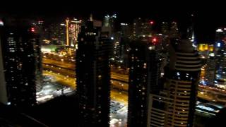 Goldcrest Views Tower 1, JLT, Dubai - Rooftop Pool at Night