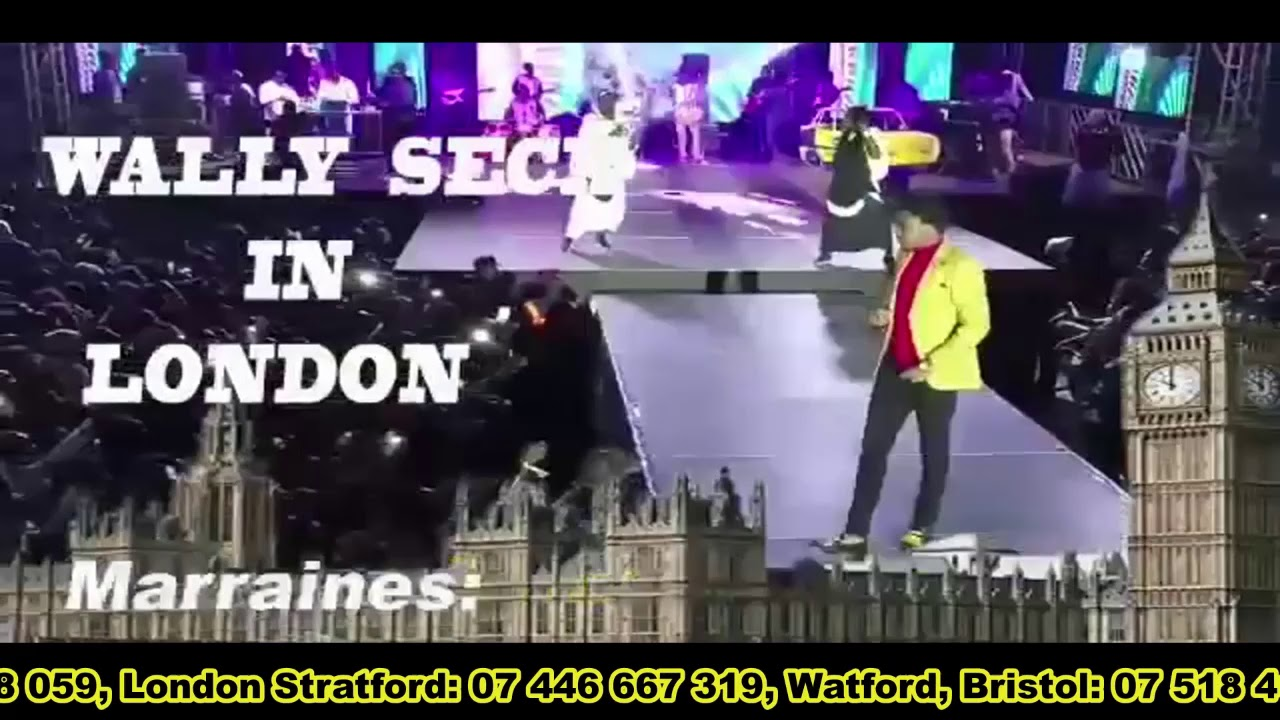 Wally Live in London April 6th