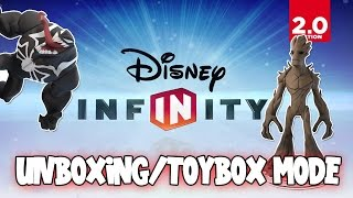 Disney Infinity 2.0 Marvel Super Heroes - Unboxing/toybox Mode