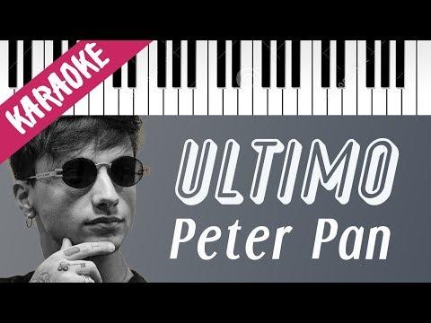 Ultimo | Peter Pan (Vuoi Volare Con Me?) // Piano Karaoke con Testo