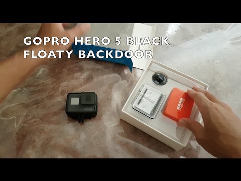 GOPRO HERO 5 black - floaty backdoor unboxing and installation