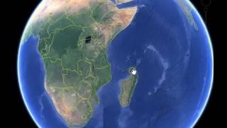 شرح بالخرائط  موقع دولة  جزر القمر  العربية والاسلامية