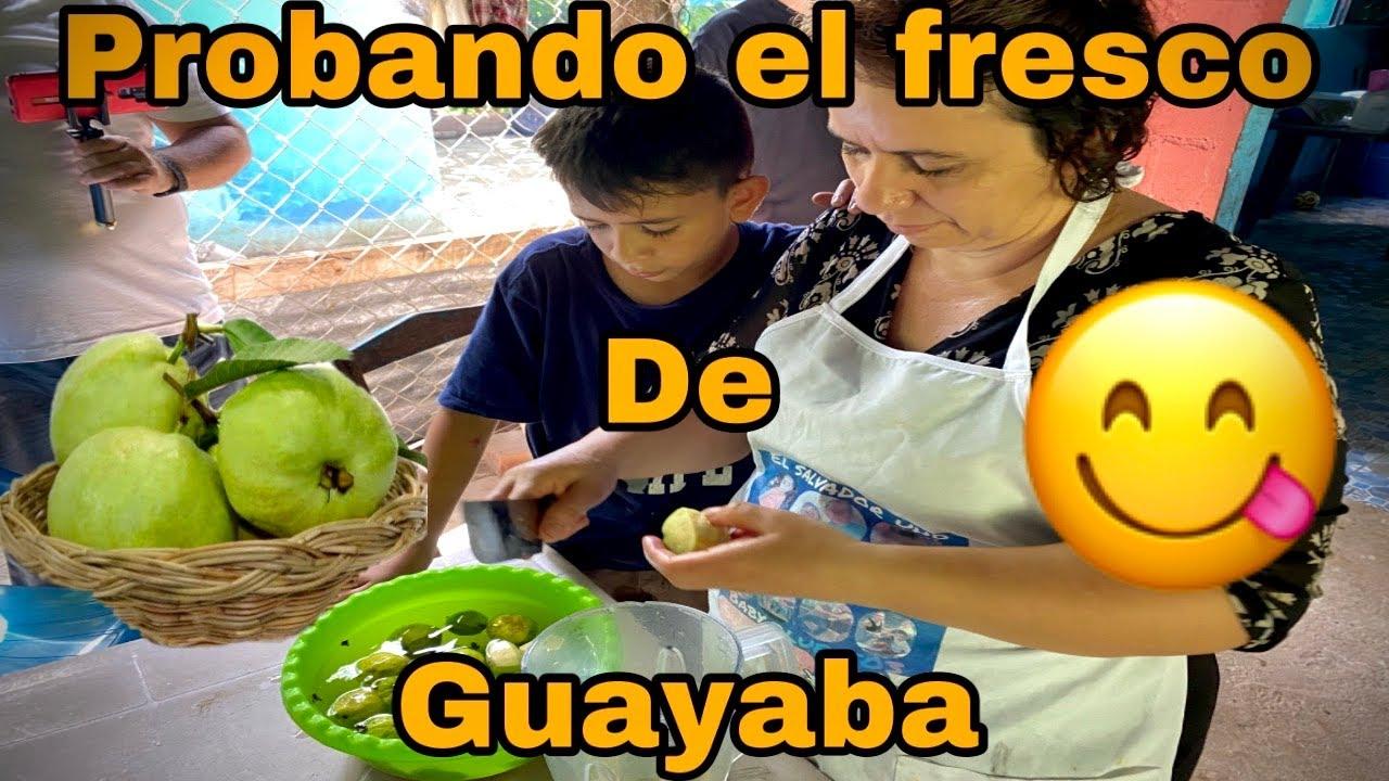 Haciendo el delicioso refresco de guayaba 🍹🍹