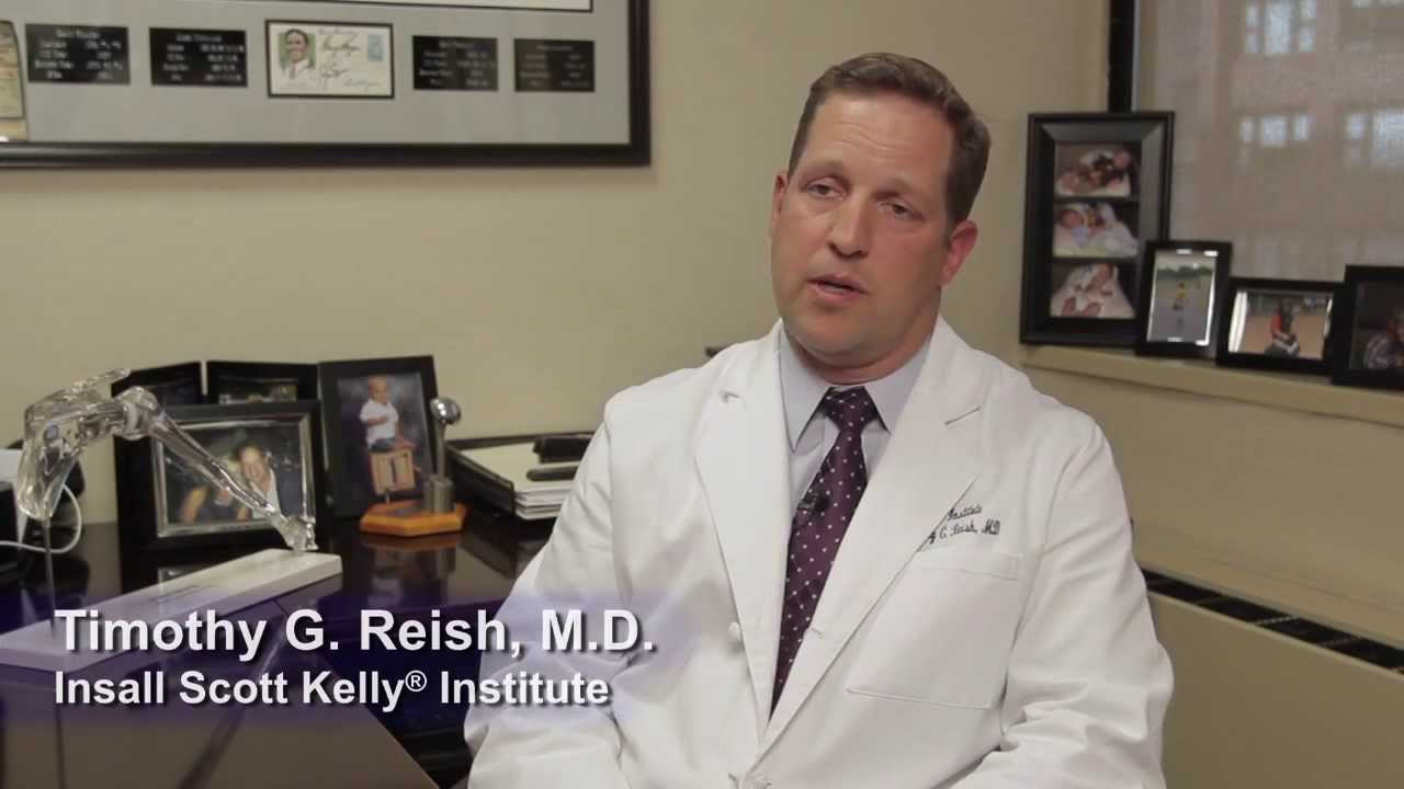 Timothy G  Reish, MD  Knee and Shoulder Surgery