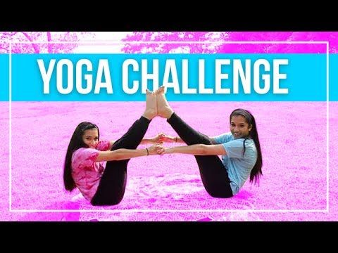 one person yoga challenge