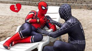 SPIDER-MAN vs VENOM in real life (Love) | Khi Người Nhện Yêu