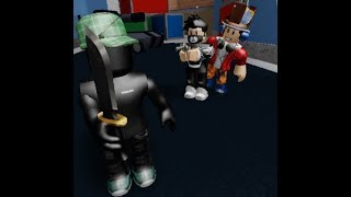 Who has knives? :))) Roblox-Murder Mystery 2