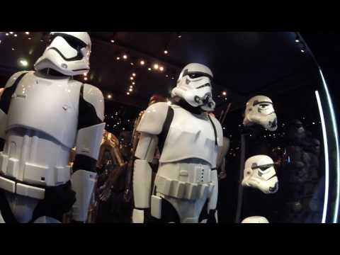Star Wars Identities Exhibition Vlog 28th January 2017