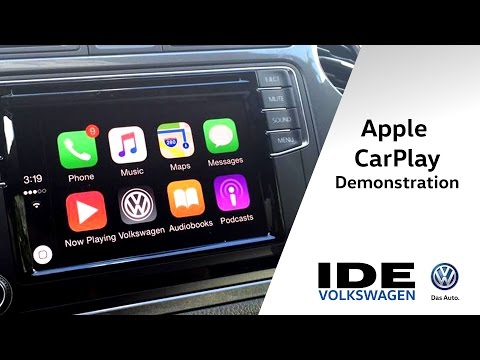Apple CarPlay Demonstration in 2016 VW | Ide Volkswagen