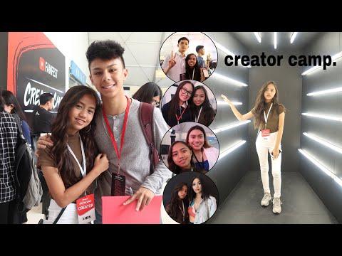 YOUTUBE CREATOR CAMP!! ft. Kenneth San Jose, Mark Reyes, Nanay Isha and more...