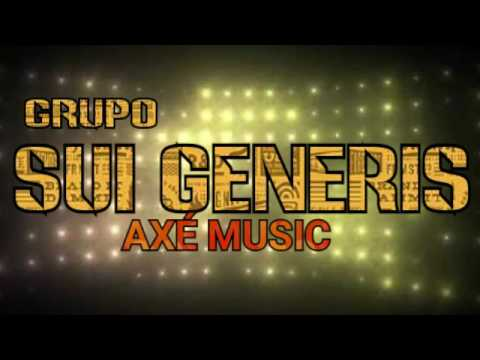 GRUPO SUI GENERIS AXÉ MUSIC ANOS 80