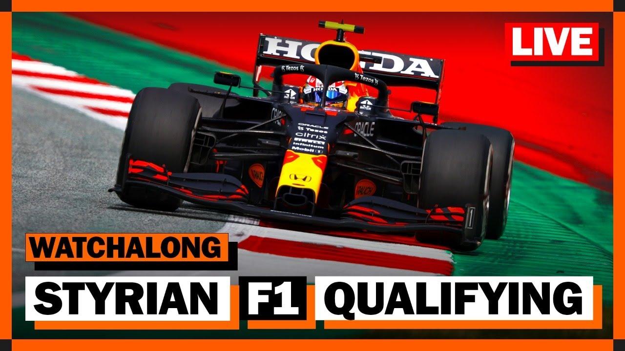 2021 F1 Styrian Gp Qualifying Wtf1 Watchalong Youtube