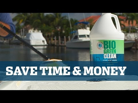 Florida Sport Fishing TV - Cleaner Multi Surface Save Time Save Money Clean Value