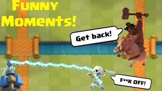 Funny Moments, Glitches & Fails Compilation | Clash Royale Montage #10