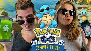 SHINY SCHIGGY mit SONNENBRILLE 😍 Pokémon Go Community Day