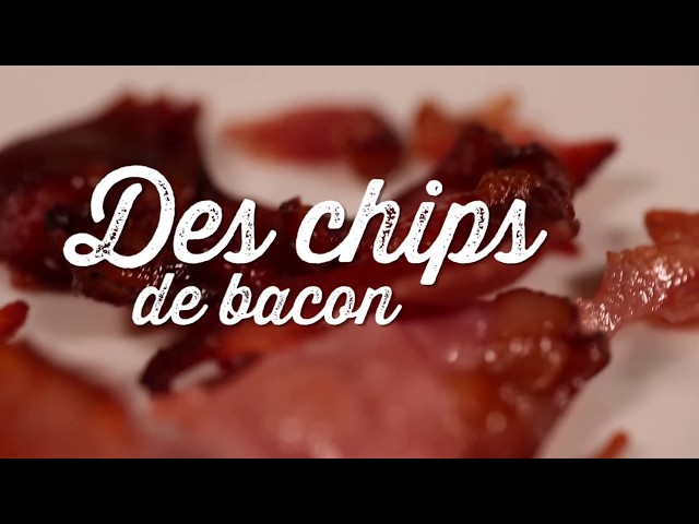 Chips de bacon