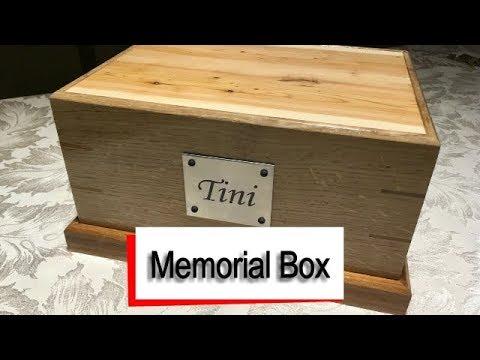 Memorial Box for family Pet - Tini