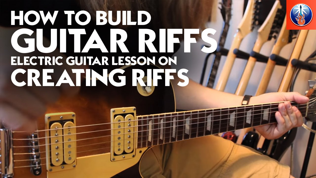 how to build guitar riffs electric guitar lesson on creating riffs youtube. Black Bedroom Furniture Sets. Home Design Ideas