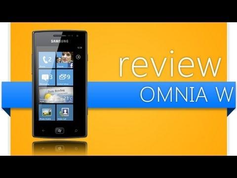 Samsung Omnia W (SGH - i677) Windows Phone 7.5