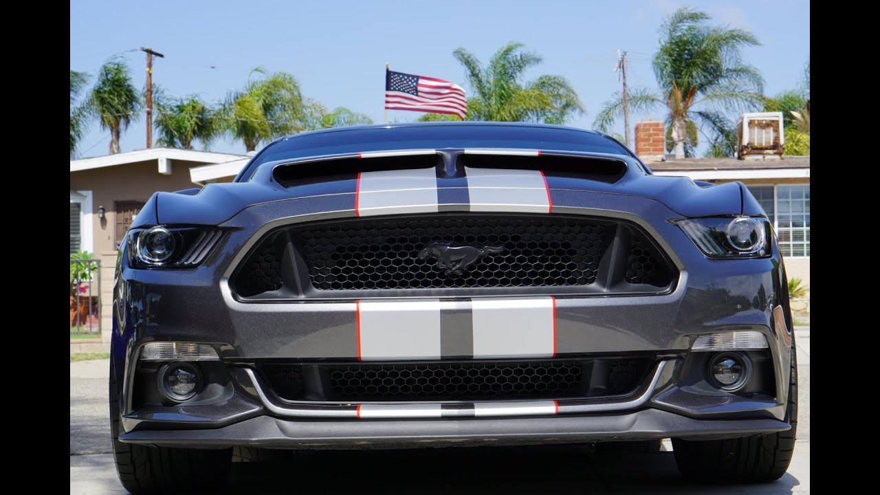 2016 Mustang Gt Shelby Gt350 Stripes Doovi