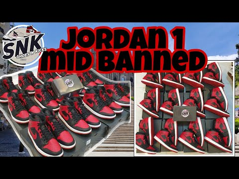 AIR JORDAN 1MID BANNED OnFeet Review | Unboxing | Manila Shipping Transactions