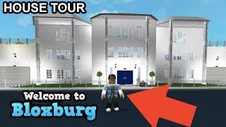 OFFICIAL HOUSE TOUR! BLOXBURG MEGA MANSION | ROBLOX | FAMBAM GAMING